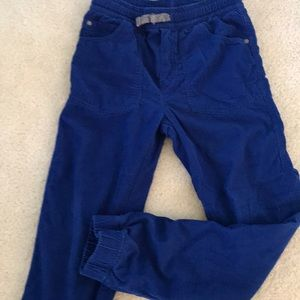 Corduroy Jogger in Blue!